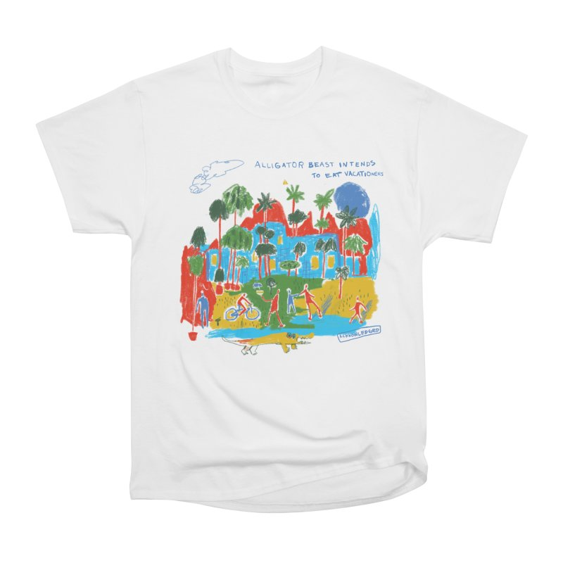 Alligator Beast Women's T-Shirt by Lose Your Reputation