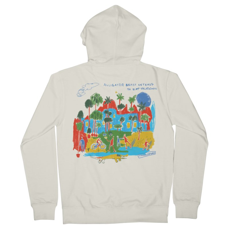 Alligator Beast Women's Zip-Up Hoody by Lose Your Reputation