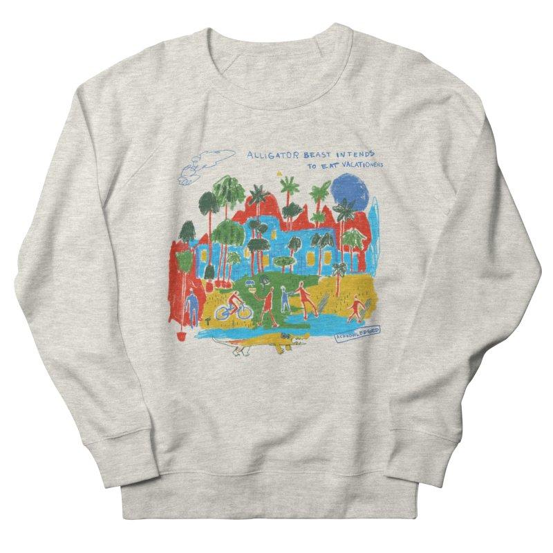 Alligator Beast Men's Sweatshirt by Lose Your Reputation