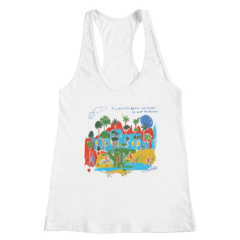 Alligator Beast Women's Tank by Lose Your Reputation