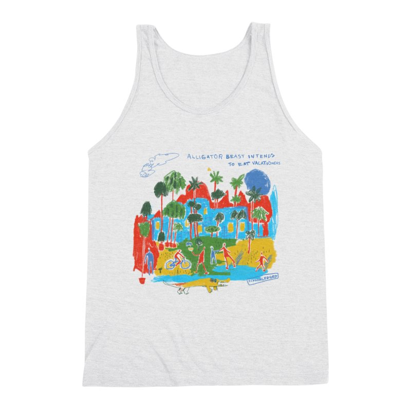 Alligator Beast Men's Tank by Lose Your Reputation