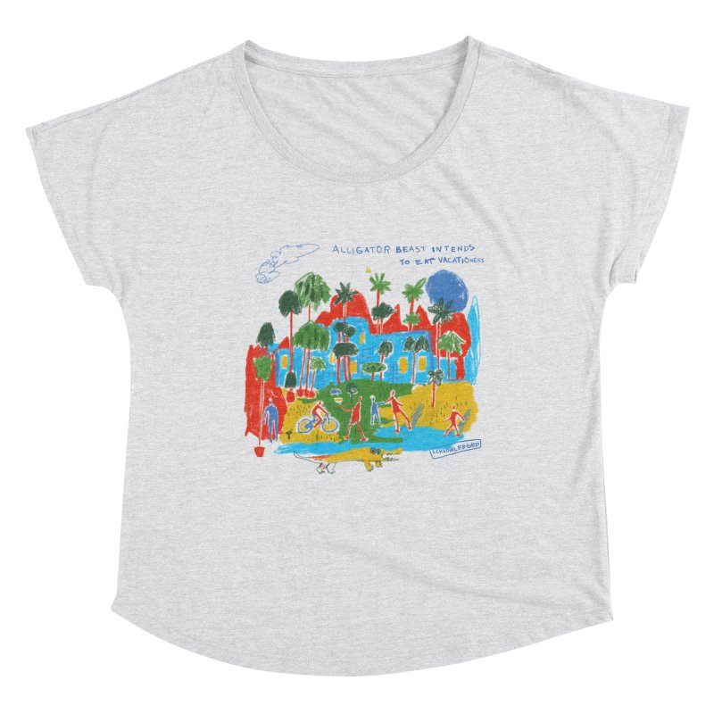 Alligator Beast Women's Scoop Neck by Lose Your Reputation