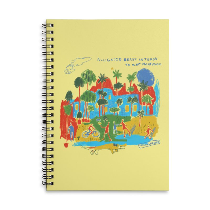 Alligator Beast Accessories Notebook by Lose Your Reputation
