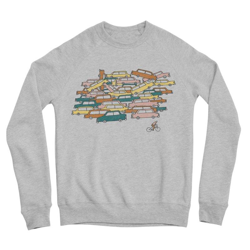Bike Lane Men's Sweatshirt by Lose Your Reputation