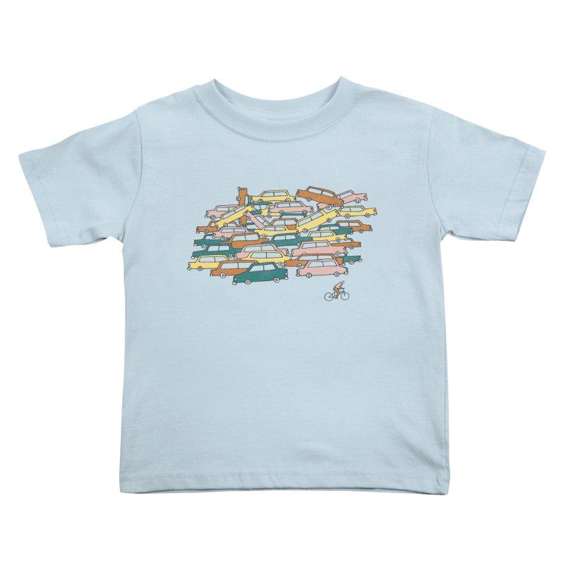 Bike Lane Kids Toddler T-Shirt by Lose Your Reputation