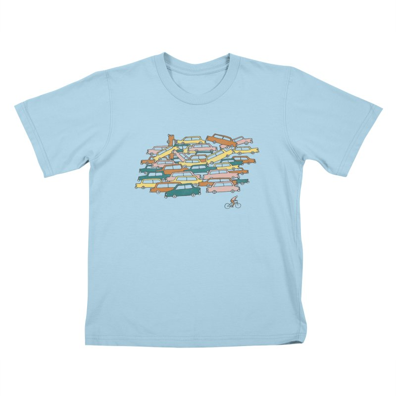Bike Lane Kids T-Shirt by Lose Your Reputation