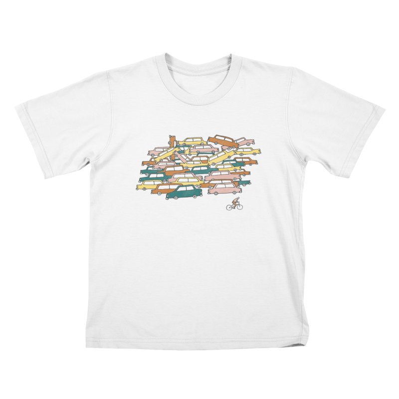 Bike Lane Kids T-Shirt by Lose Your Reputation