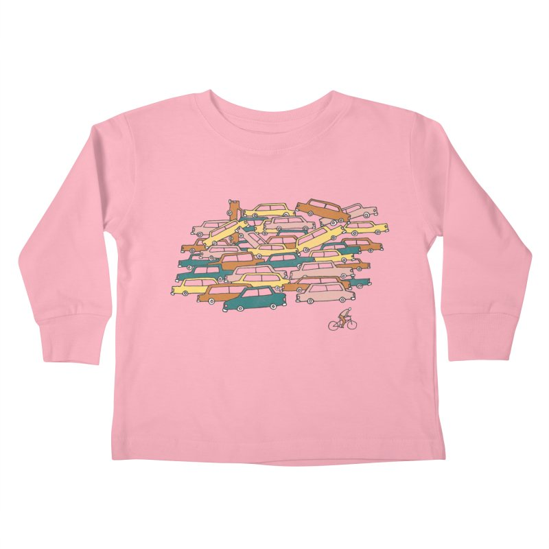 Bike Lane Kids Toddler Longsleeve T-Shirt by Lose Your Reputation