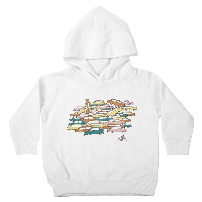 Bike Lane Kids Toddler Pullover Hoody by Lose Your Reputation