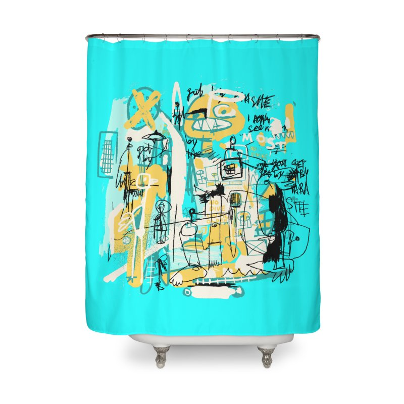 Mostly Agreeable Home Shower Curtain by Lose Your Reputation