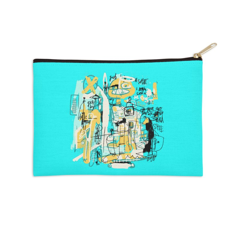 Mostly Agreeable Accessories Zip Pouch by Lose Your Reputation