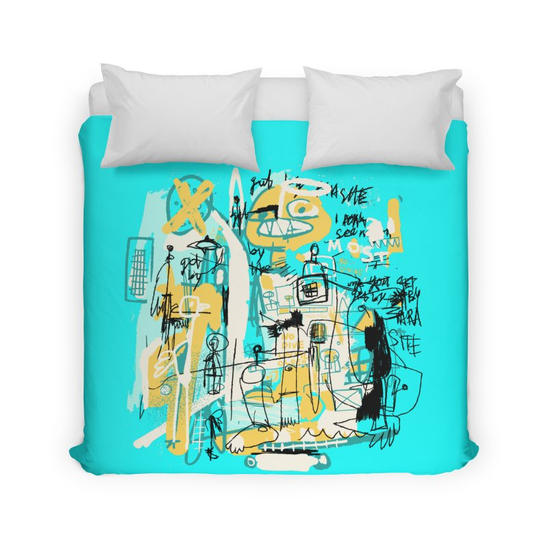 Mostly Agreeable Home Duvet by Lose Your Reputation