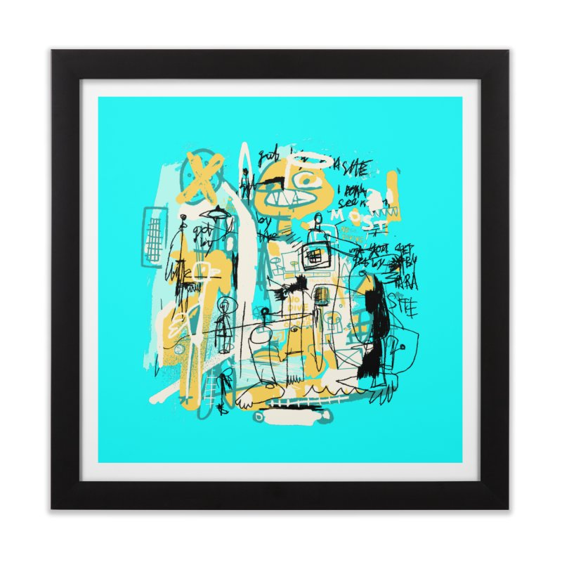 Mostly Agreeable Home Framed Fine Art Print by Lose Your Reputation