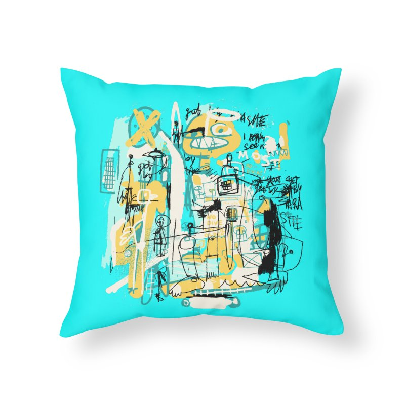 Mostly Agreeable Home Throw Pillow by Lose Your Reputation