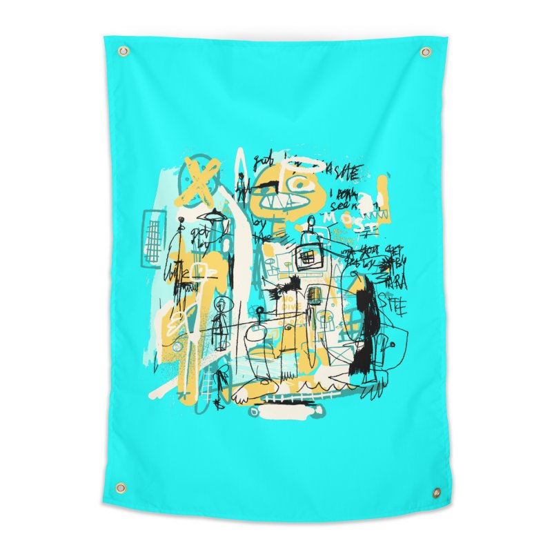 Mostly Agreeable Home Tapestry by Lose Your Reputation