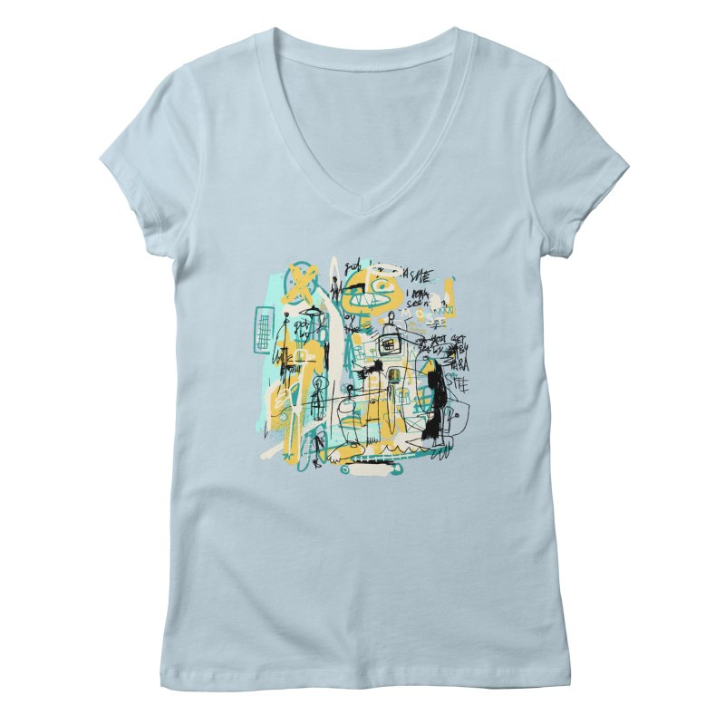 Mostly Agreeable Women's V-Neck by Lose Your Reputation
