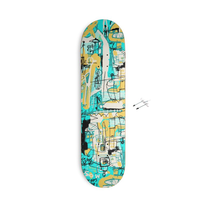 Mostly Agreeable Accessories Skateboard by Lose Your Reputation