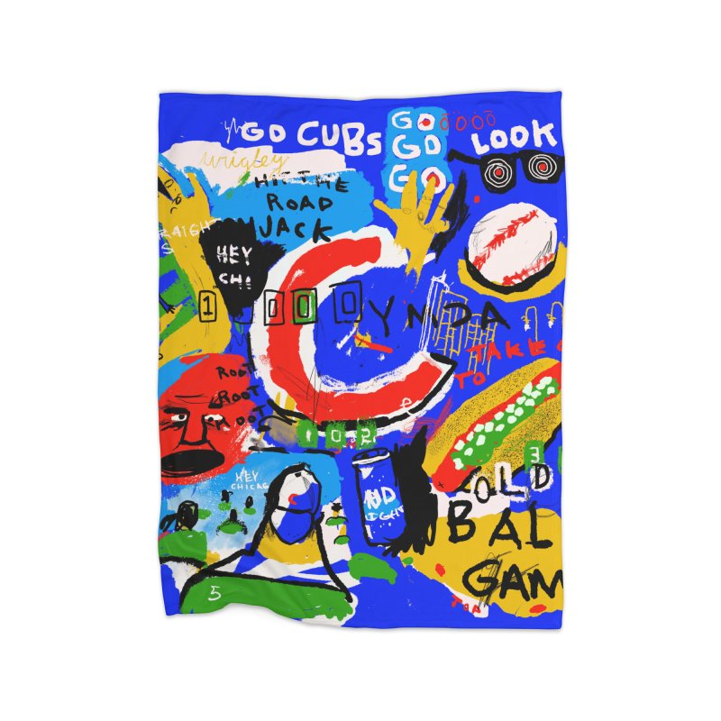 Hey Chicago Home Blanket by Lose Your Reputation