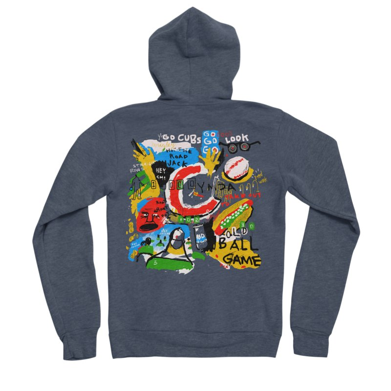 Hey Chicago Women's Zip-Up Hoody by Lose Your Reputation