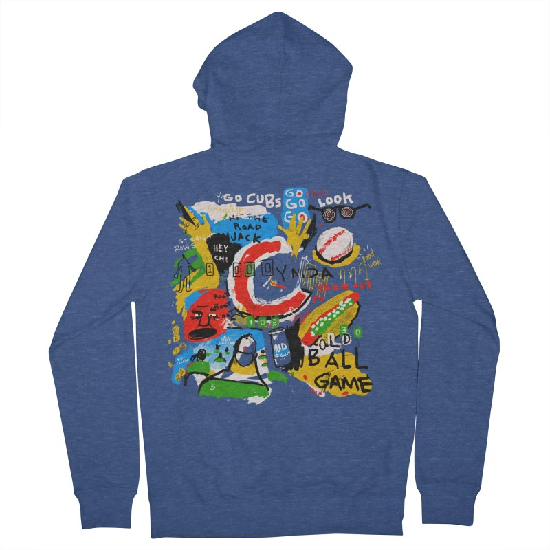 Hey Chicago Men's Zip-Up Hoody by Lose Your Reputation