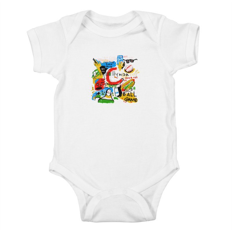 Hey Chicago Kids Baby Bodysuit by Lose Your Reputation