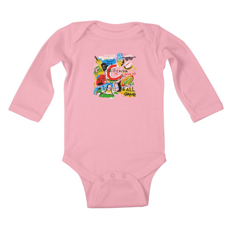 Hey Chicago Kids Baby Longsleeve Bodysuit by Lose Your Reputation