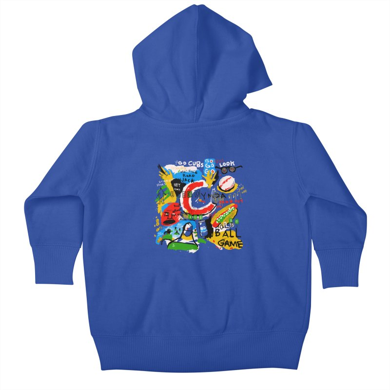 Hey Chicago Kids Baby Zip-Up Hoody by Lose Your Reputation