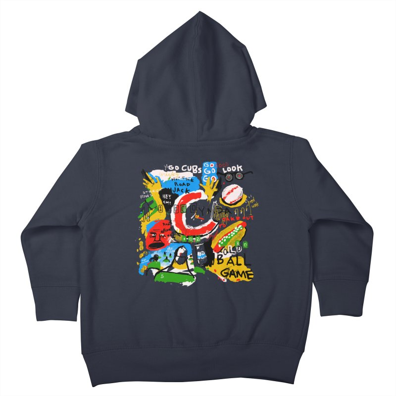 Hey Chicago Kids Toddler Zip-Up Hoody by Lose Your Reputation