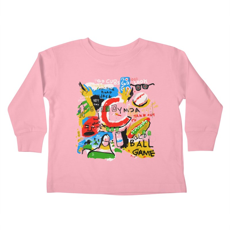 Hey Chicago Kids Toddler Longsleeve T-Shirt by Lose Your Reputation