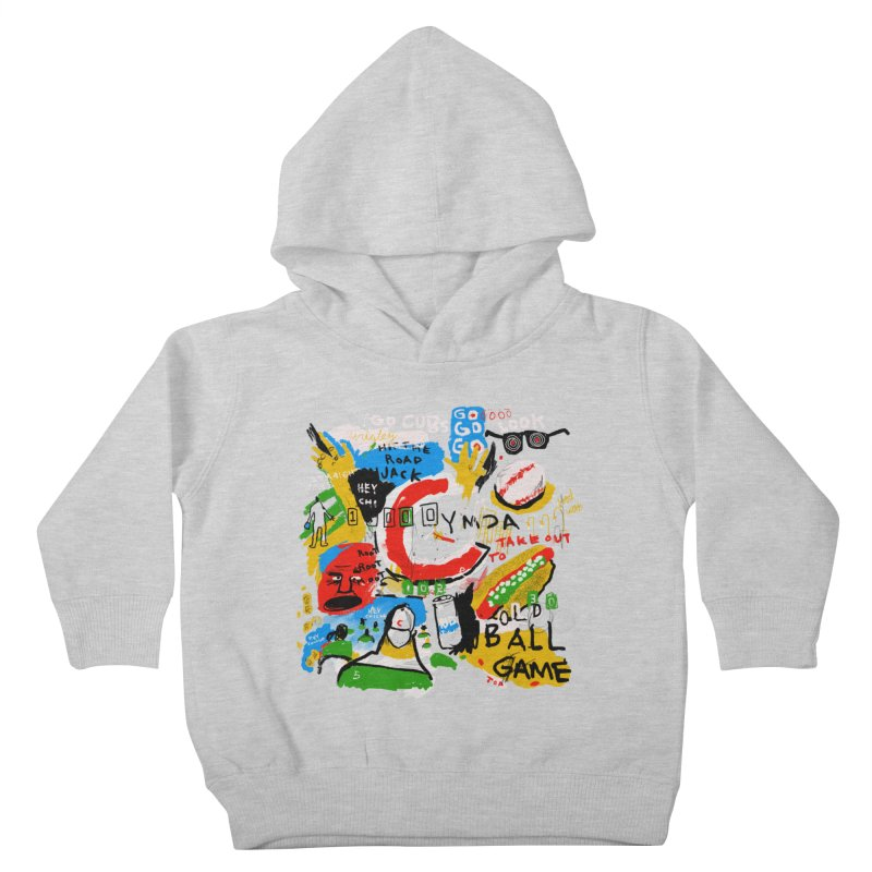 Hey Chicago Kids Toddler Pullover Hoody by Lose Your Reputation