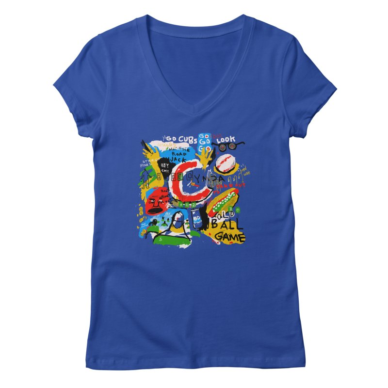 Hey Chicago Women's V-Neck by Lose Your Reputation