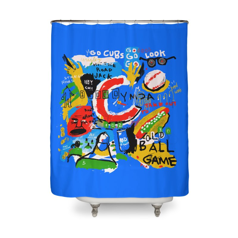 Hey Chicago Home Shower Curtain by Lose Your Reputation