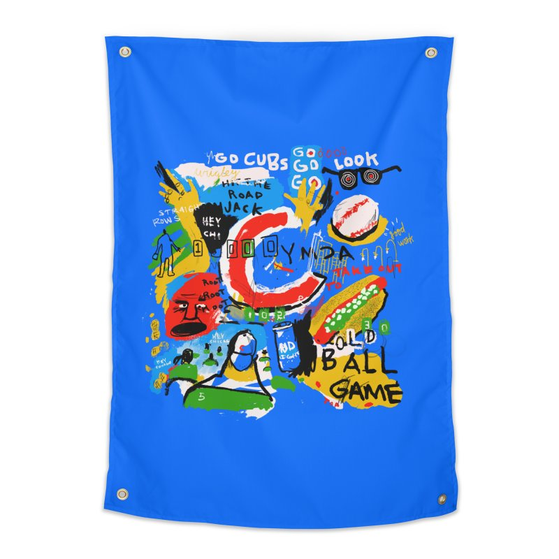 Hey Chicago Home Tapestry by Lose Your Reputation