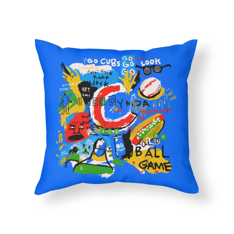 Hey Chicago Home Throw Pillow by Lose Your Reputation