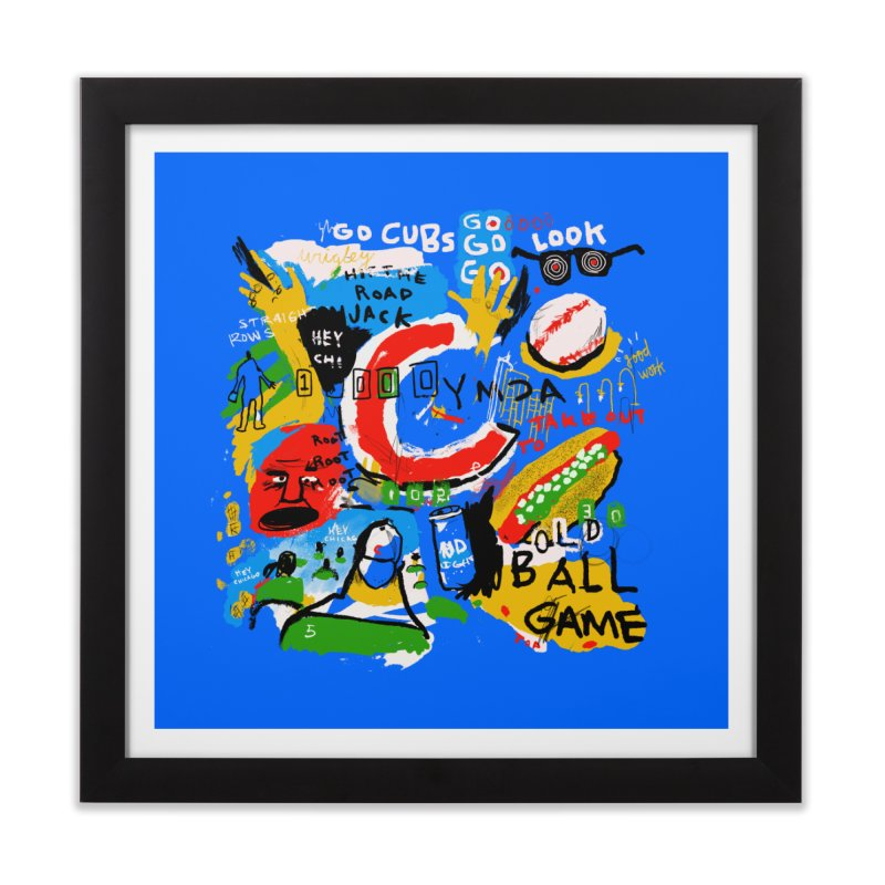 Hey Chicago Home Framed Fine Art Print by Lose Your Reputation