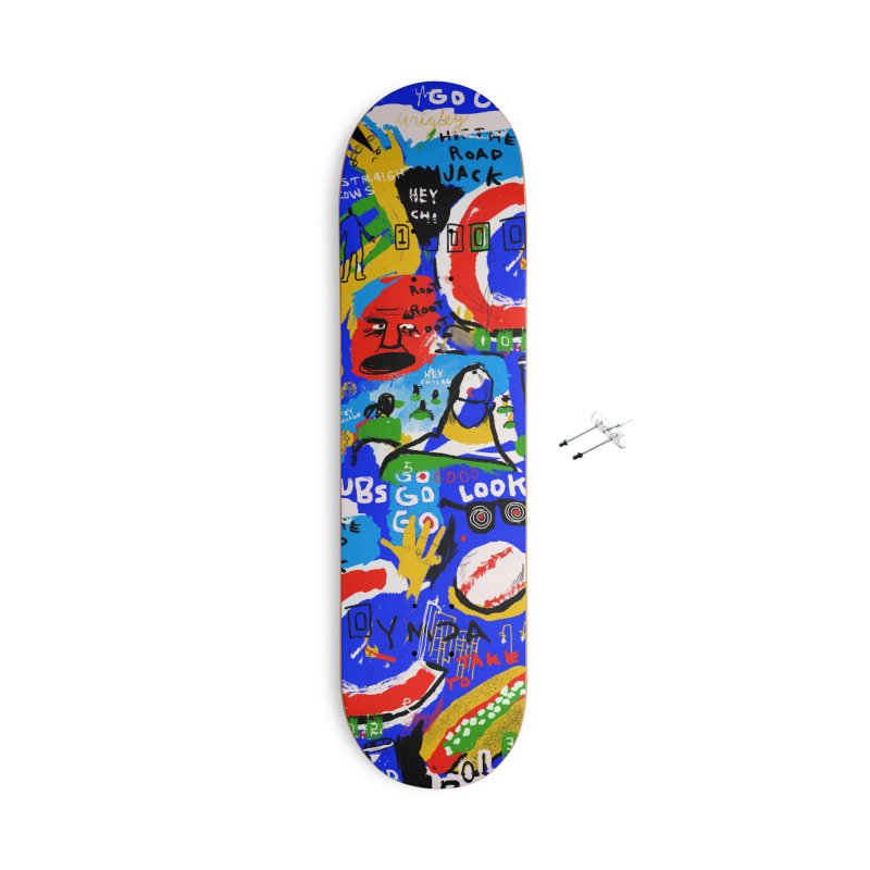 Hey Chicago Accessories Skateboard by Lose Your Reputation