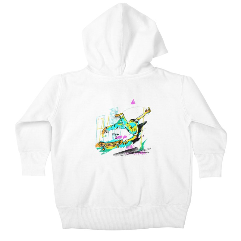 Step 1 Kids Baby Zip-Up Hoody by Lose Your Reputation