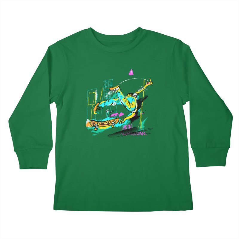 Step 1 Kids Longsleeve T-Shirt by Lose Your Reputation