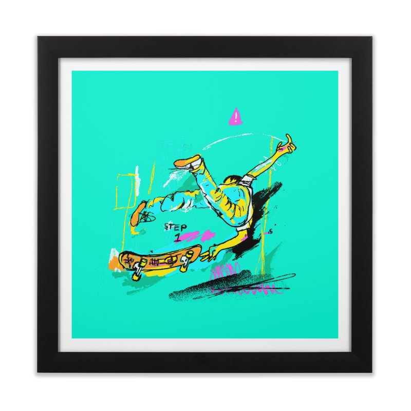 Step 1 Home Framed Fine Art Print by Lose Your Reputation