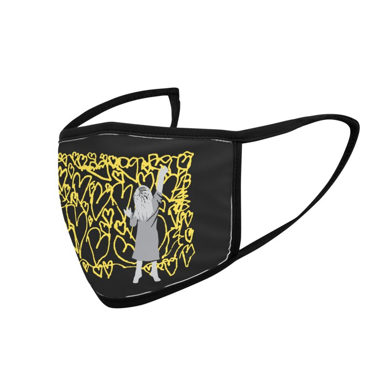 Writing on the Wall Accessories Face Mask by Lose Your Reputation