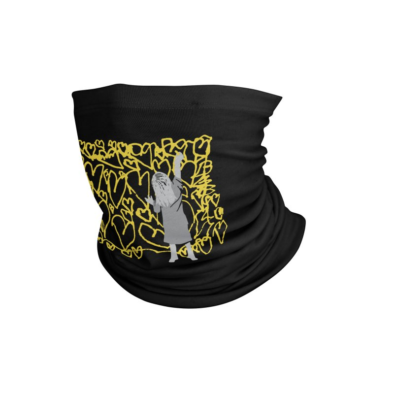 Writing on the Wall Accessories Neck Gaiter by Lose Your Reputation