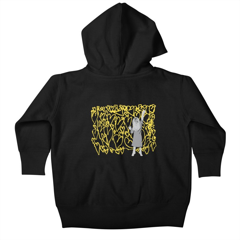 Writing on the Wall Kids Baby Zip-Up Hoody by Lose Your Reputation