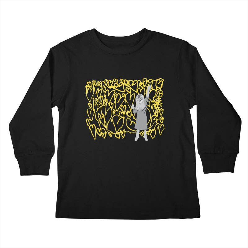 Writing on the Wall Kids Longsleeve T-Shirt by Lose Your Reputation