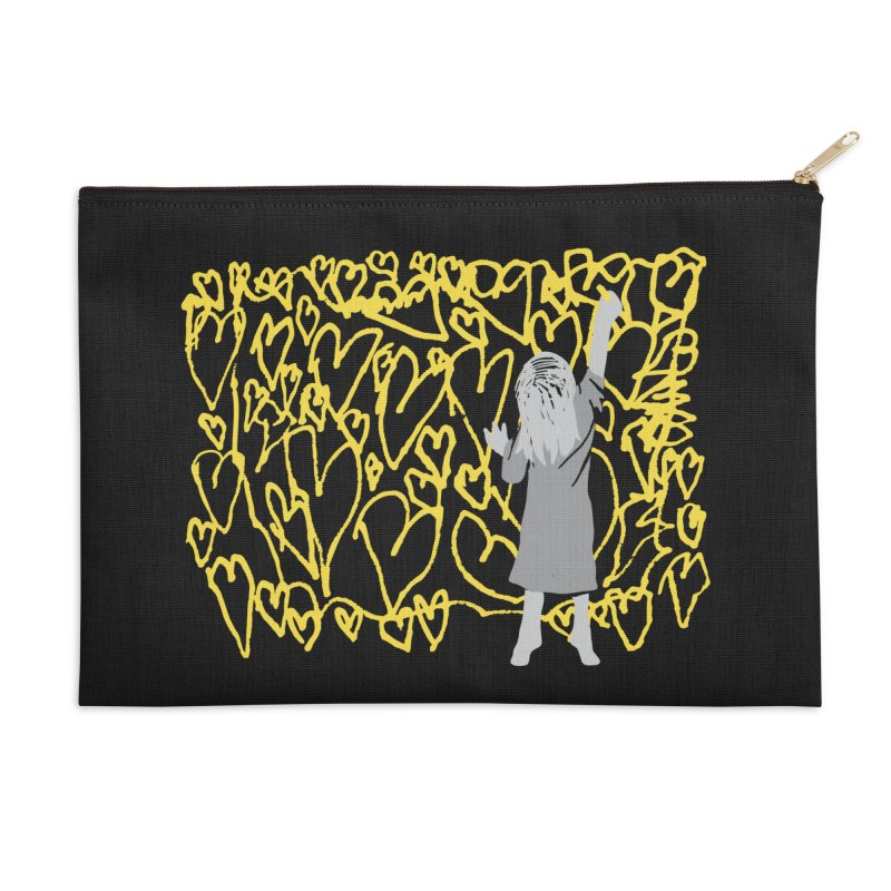 Writing on the Wall Accessories Zip Pouch by Lose Your Reputation