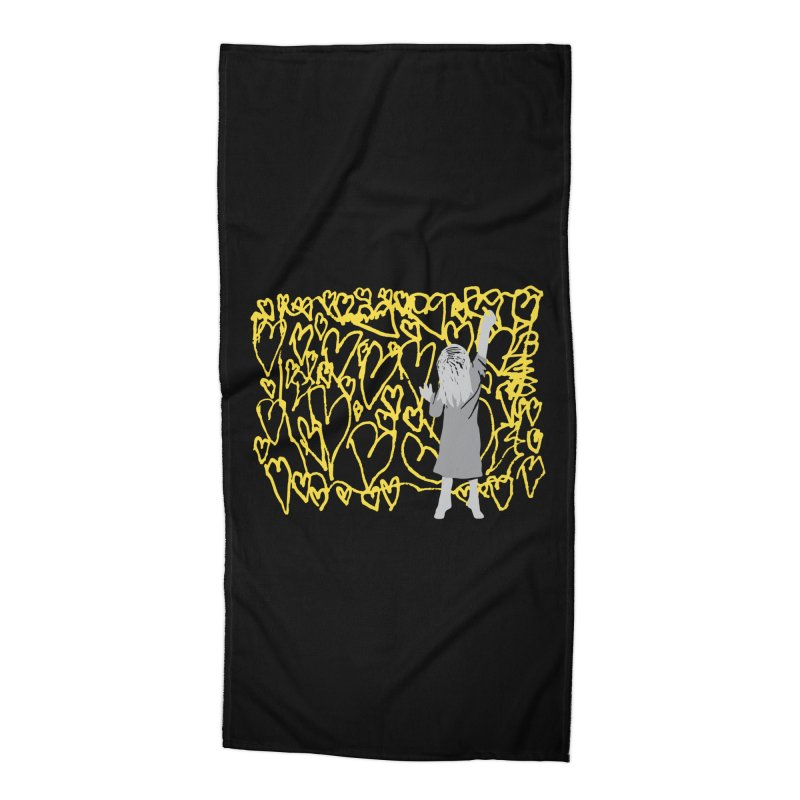 Writing on the Wall Accessories Beach Towel by Lose Your Reputation