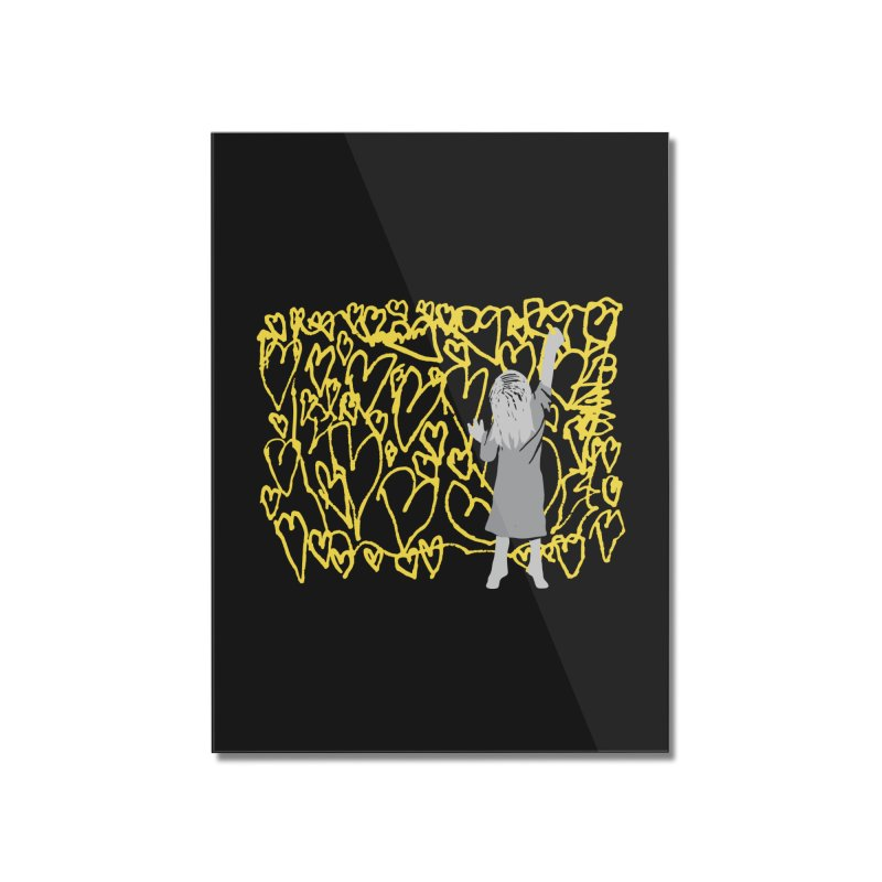 Writing on the Wall Home Mounted Acrylic Print by Lose Your Reputation