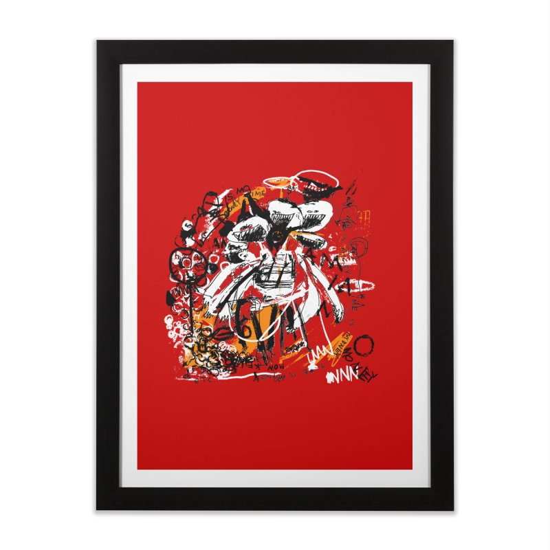 Time is Money Home Framed Fine Art Print by Lose Your Reputation