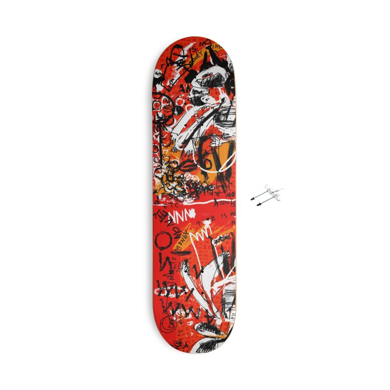 Time is Money Accessories Skateboard by Lose Your Reputation