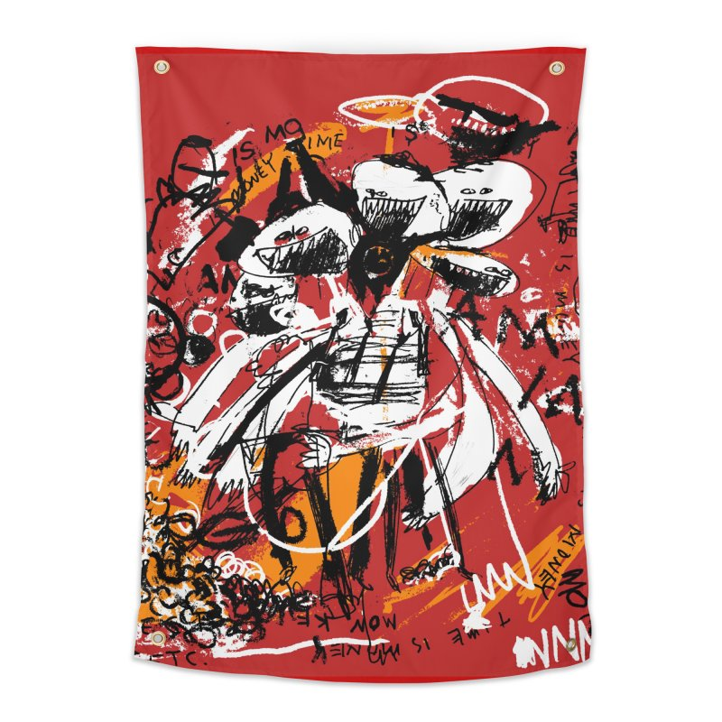 Time is Money Home Tapestry by Lose Your Reputation
