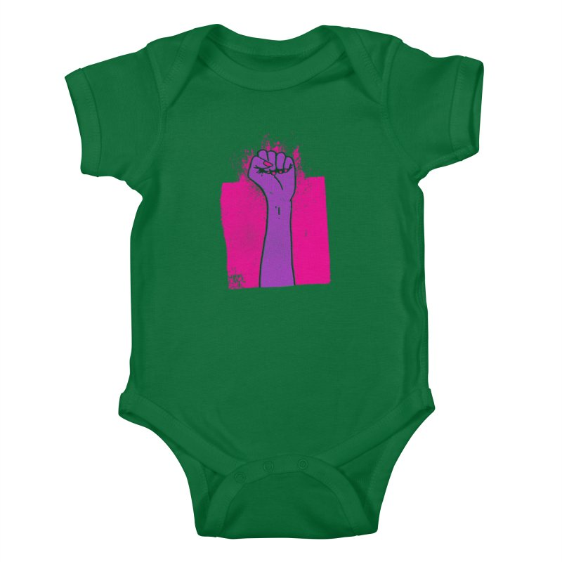 Glass Ceilings Kids Baby Bodysuit by Lose Your Reputation